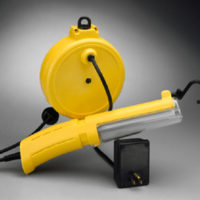 13Watt Fluorescent Retractable Cord Reel Work Light