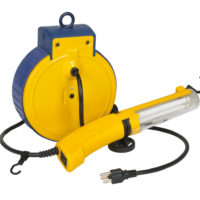Retractable Work Light
