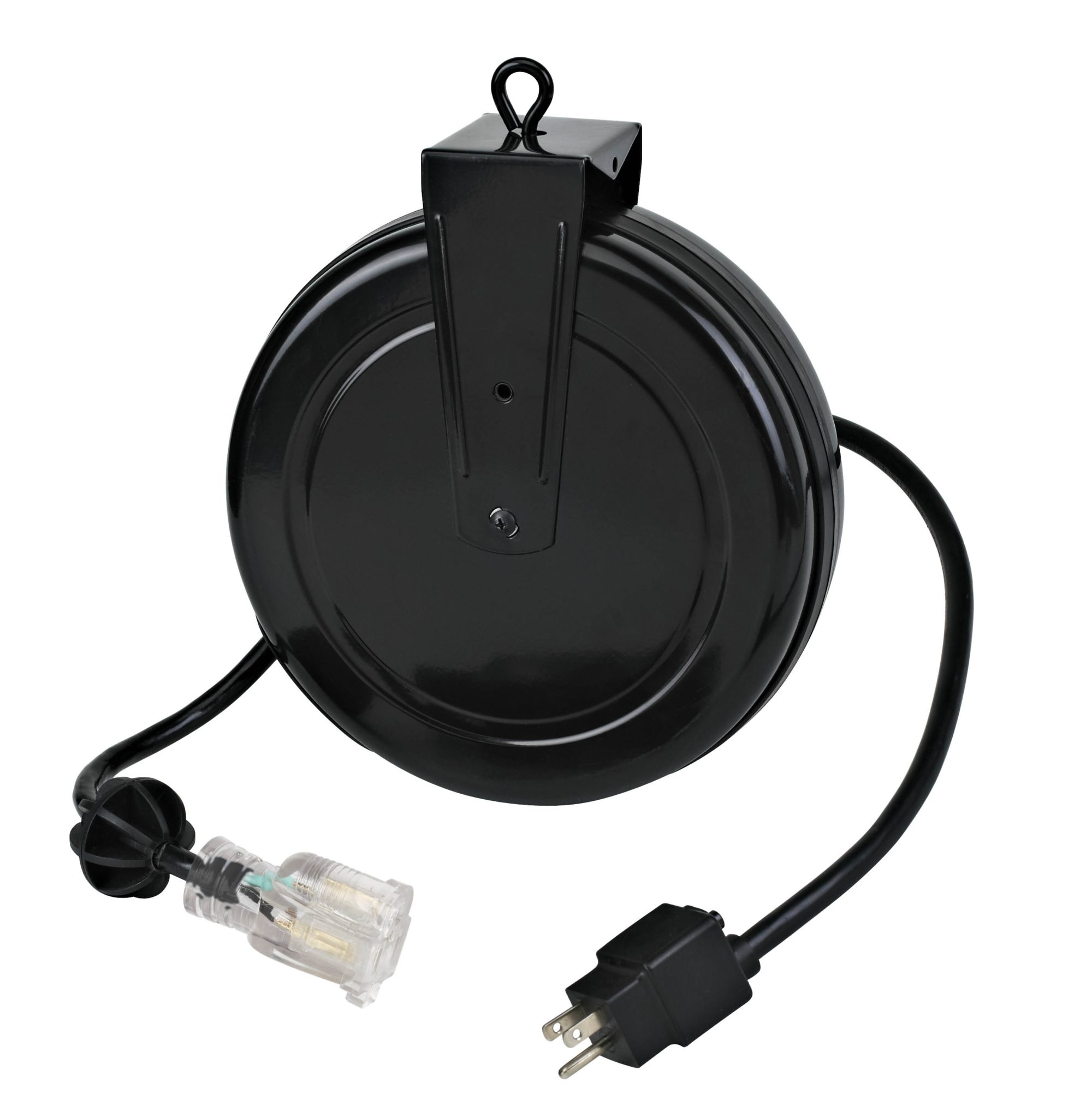 15 Amp Retractable Extension Cord Reel From Alert Stamping