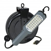 LED Cord Reel Task Light