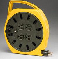 Multi-Outlet Extension Cord Reel