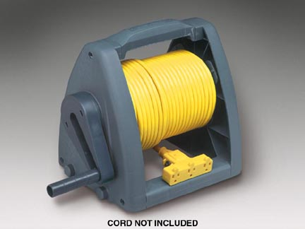 Manual Wind-Up Cord Storage Reel 7000 WR w/ Mounting