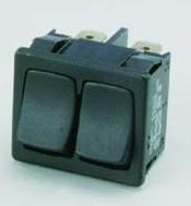 15 Watt Dual Rocker/Starter Switch, Fits 15F and 15FG lamps