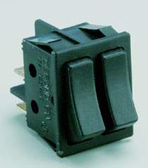 26 Watt Dual Rocker Switch, Fits DPL and QPL lamps