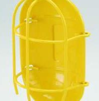 Metal Guard, Yellow Powder Coated
