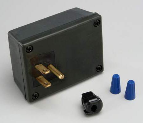 13 Watt Ballast Plug End Box Assy