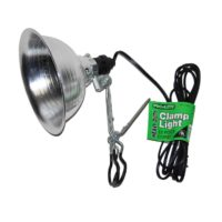 "8-1/2"" Aluminum Shade, Heavy Duty Clamp Lamp"