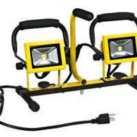 Dual 10 Watt LED Flood Lights