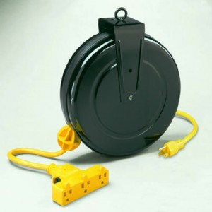 Extension Cords on Retractable Reels