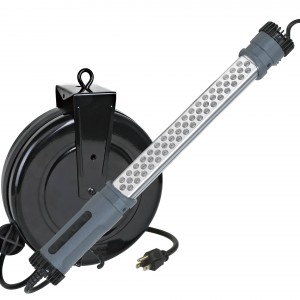LED Corded on Retractable Reels