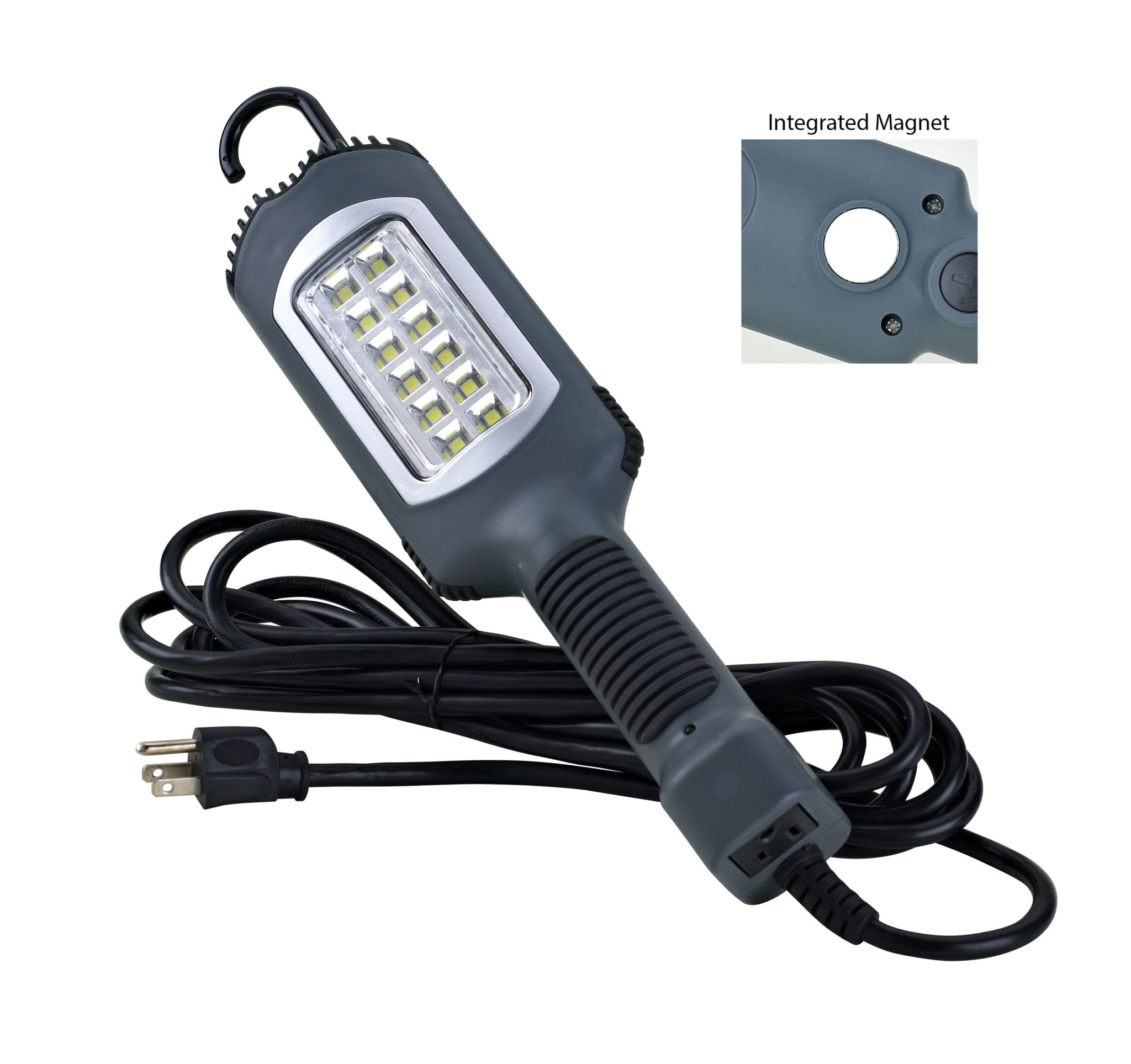 12 watt 1000 lumen led work light alert stamping. Black Bedroom Furniture Sets. Home Design Ideas